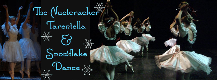Nutcracker Tarentella & Snowflake Dance Website Slide