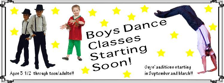 Boys Dance Website Slide